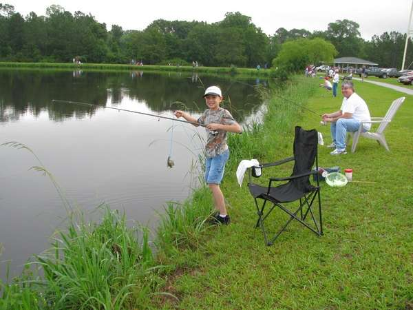 Kids Fishing Derby 2009 Part 1